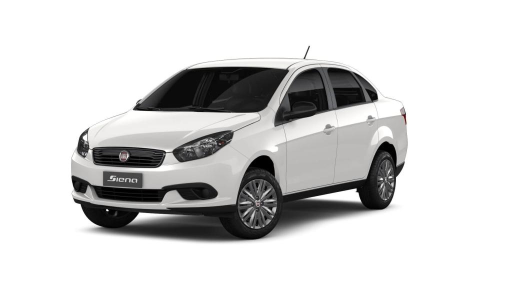 Grand Siena - Branco Banchisa - Tropical Veículos - Concessionária Fiat em Boa Vista Roraima