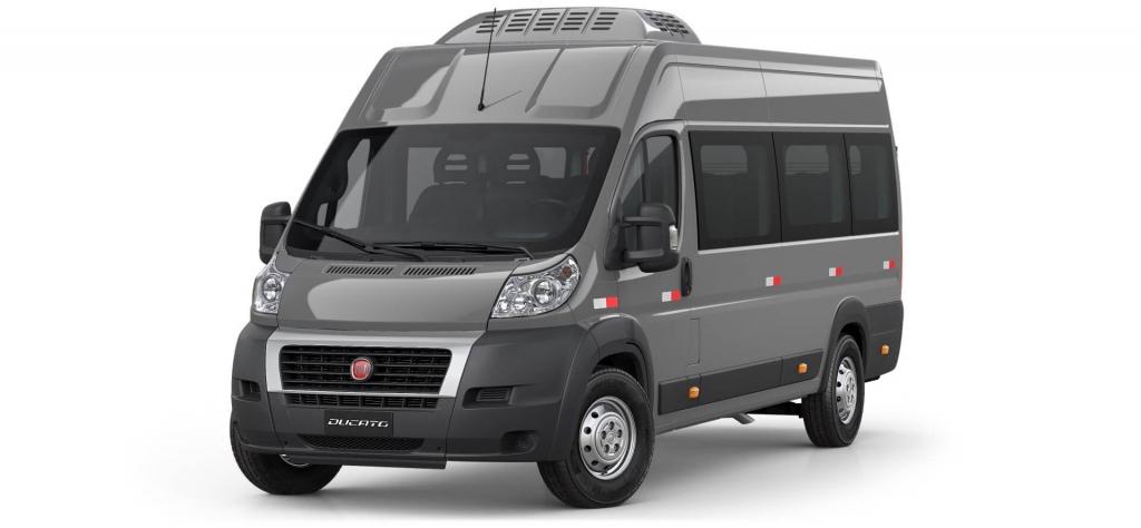 Ducato - Cinza Metálico - Tropical Veículos - Concessionária Fiat em Boa Vista Roraima