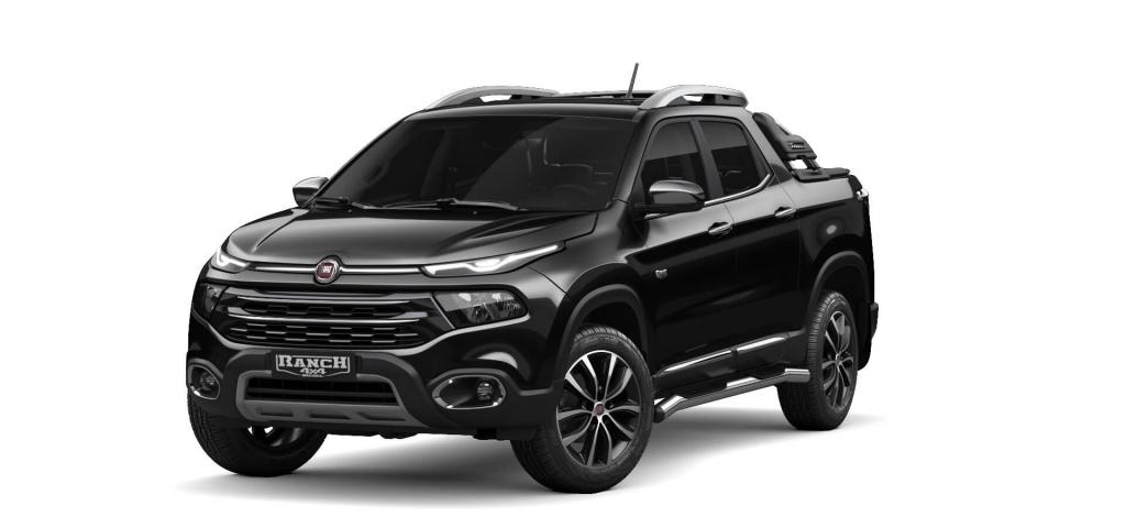 Toro - Preto Carbon - Tropical Veículos - Concessionária Fiat em Boa Vista Roraima