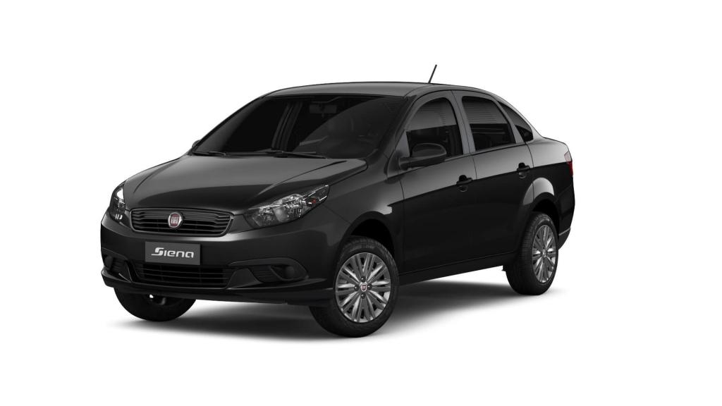 Grand Siena - Preto Vulcano - Tropical Veículos - Concessionária Fiat em Boa Vista Roraima