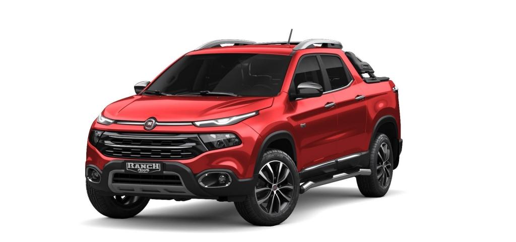 Toro - Vermelho Colorado - Tropical Veículos - Concessionária Fiat em Boa Vista Roraima