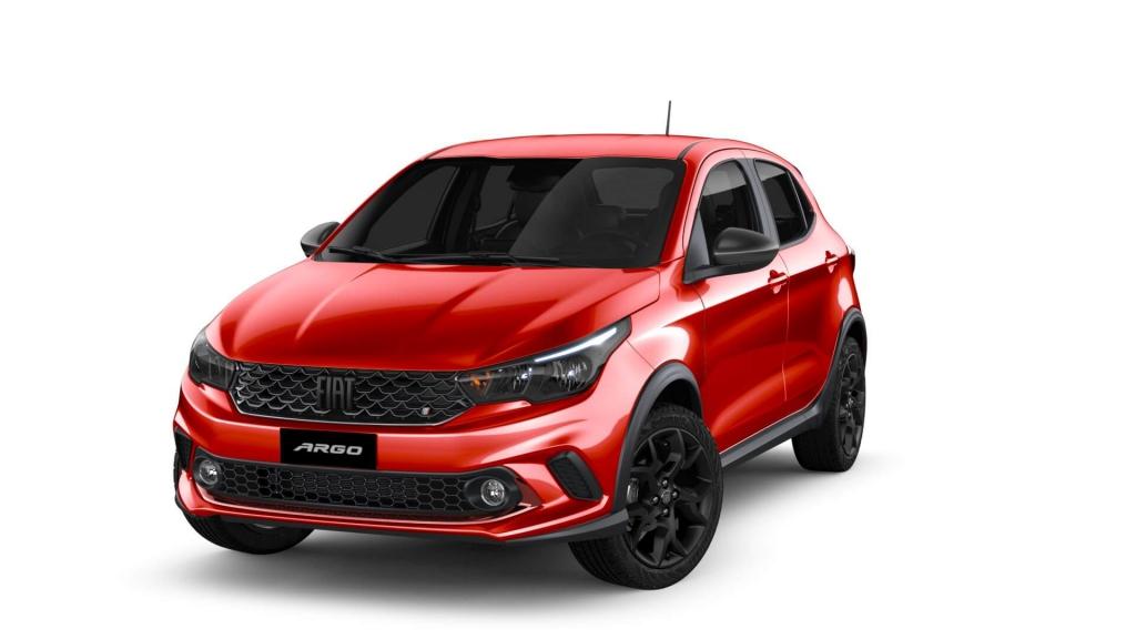 Argo - Vermelho Montecarlo - Tropical Veículos - Concessionária Fiat em Boa Vista Roraima