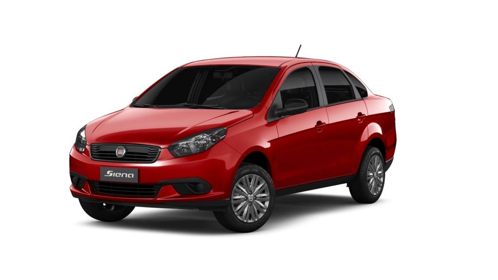 Grand Siena - Vermelho Montecarlo - Tropical Veículos - Concessionária Fiat em Boa Vista Roraima